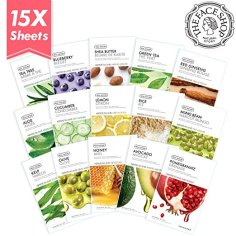 The Face Shop Facial Mask Sheets, $17.79