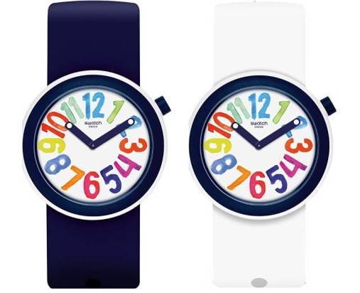 Swatch Popnumber Watch, $85