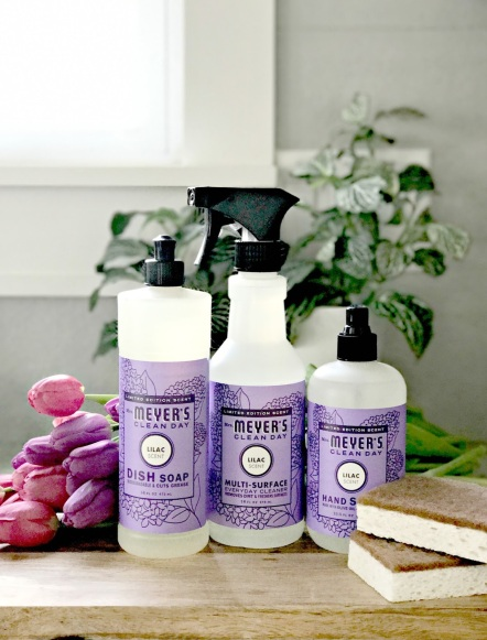 lilac products Mrs. Meyers