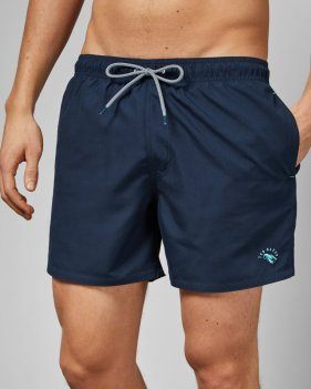 Ted Baker Planktn Plain Swim Short with Pocket