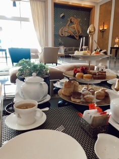 Afternoon Tea in the Almada Negreiros Lounge at Four Seasons Lisbon