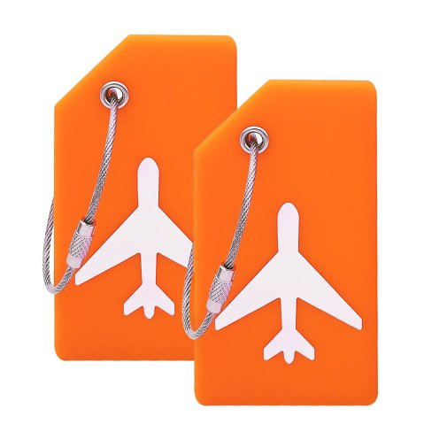 Silicone Luggage Tag