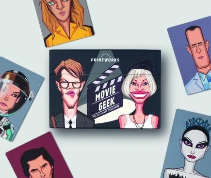 Printworks Trivia Game - Movie geek