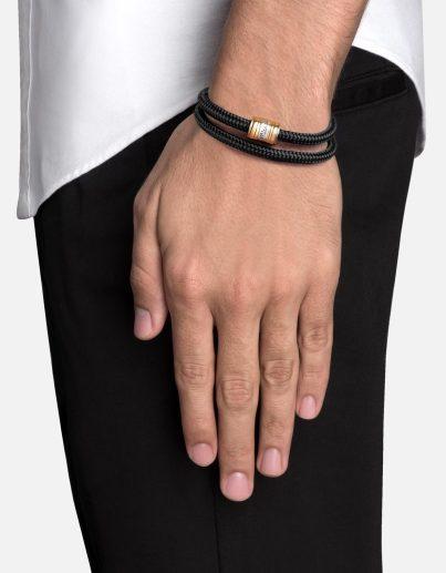 Miansai Casing Brass Rope Bracelet