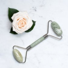 Province Apothecary Dual-Action Jade Facial Roller